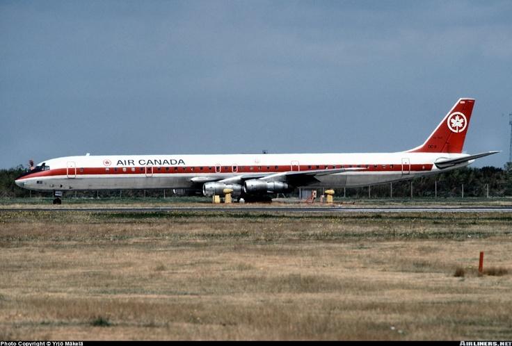 Air Canada DC8 Vintage