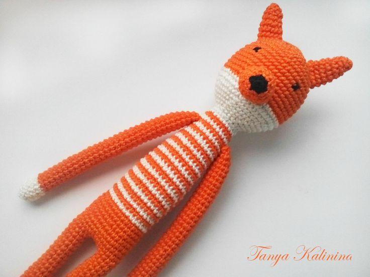 #knitting #вязаннаяигрушка # игрушкасвоими руками #лисичка