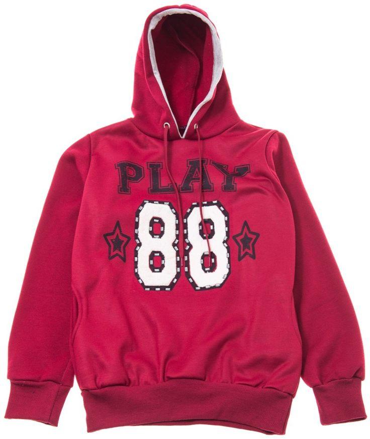 Saltanat νεανική μπλούζα φούτερ «Play 88» Κωδικός: 17704  €14,90