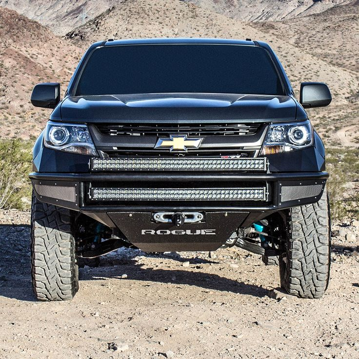Chevy Chevrolet Colorado Rogue racing REBEL Front Bumper