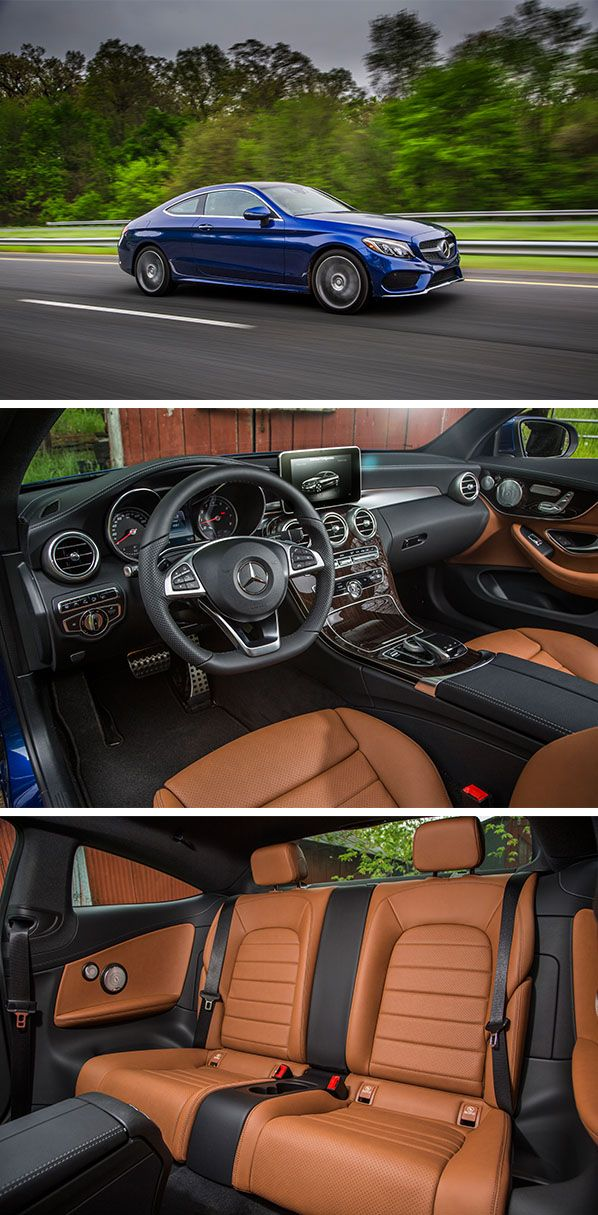 The interior of the C-Class Coupé is a statement of the Mercedes-Benz design philosophy and combines emotion with intelligence.  Photo for #MBphotopass via @mercedesbenzusa