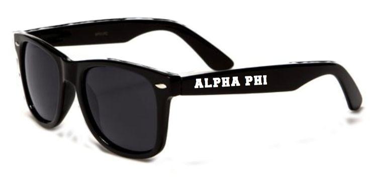 Alpha Phi Sunglasses Rayban