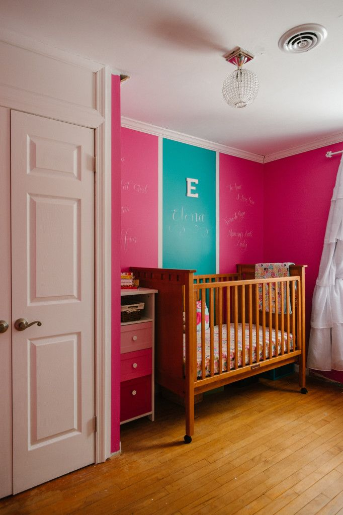 126 Best Images About Hot Pink Nursery On Pinterest Crib