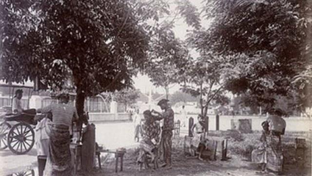 tukang cukur | madura 1911