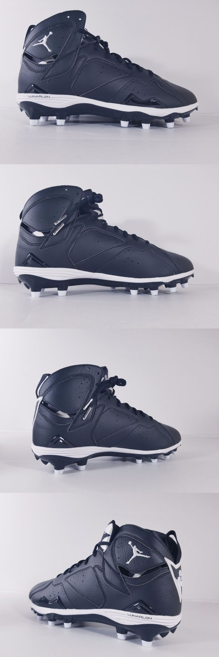 Men 159116: Nike Air Jordan Vii 7 Retro Td Football Cleats Black White Oreo Sz (719543-010) -> BUY IT NOW ONLY: $35.96 on eBay!