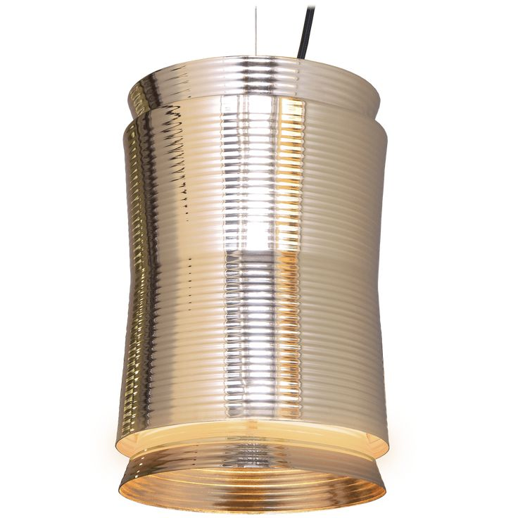Hi-Hat is a timeless metallic pendant lamp designed by Kasper Nyman. Hi-Hat has got its form and texture from cymbals. Light is directed up and down by three distinct parts of the luminaire. Golden surface gives to light warm and cosy hue.