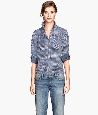 H&M Patterned cotton shirt £19.99