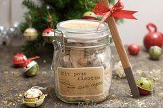 Kit risotto aux cèpes à offrir - Recette de Cuisine ~ Mademoiselle Cuisine : recettes...