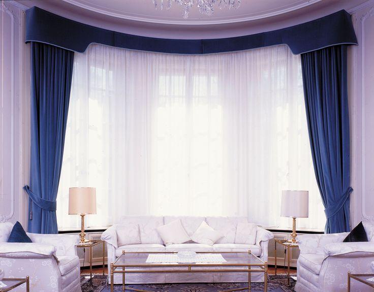 atypická půlkulatá záclona a závěs od Ateliéru Orsei #atypická #netradiční #záclona #závěs #Orsei