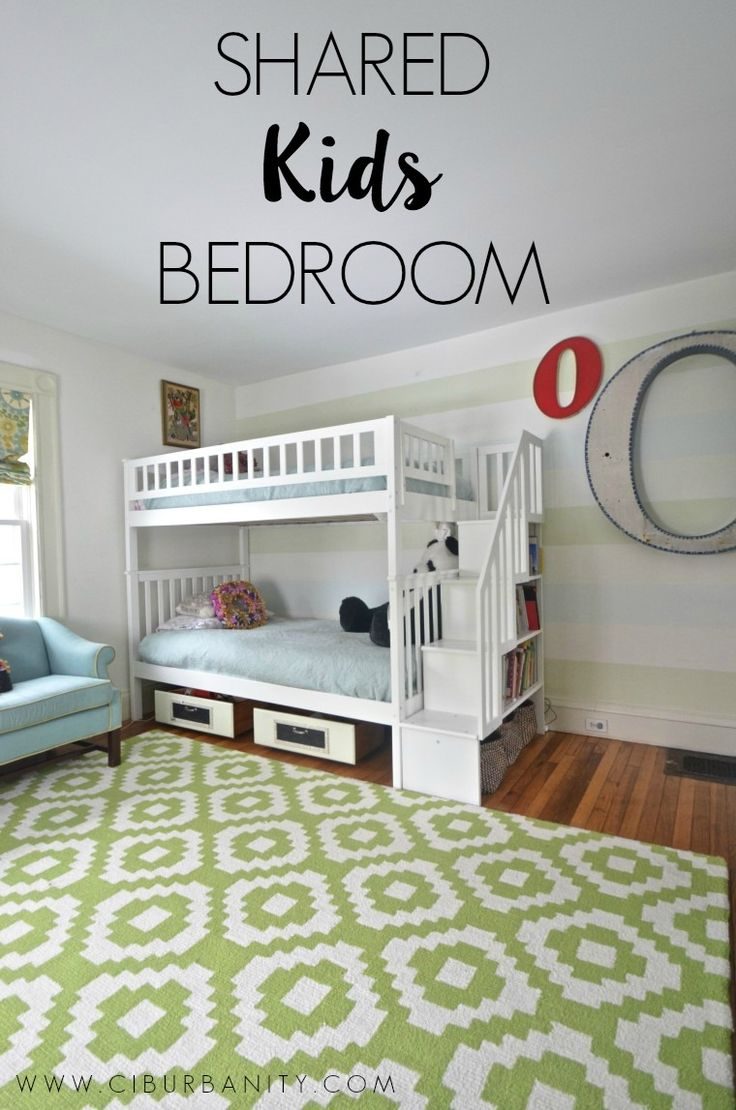 25 best ideas about shared kids bedrooms on pinterest for Unisex bedroom inspiration