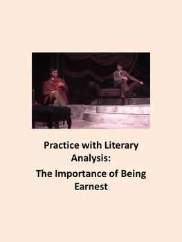 Ap lit essays on the importance of being earnest