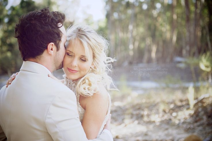 Stunning couple married at Beloftebos wedding venue in Stanford - picture by Cape Town Photographer Michelle Joubert-Martin