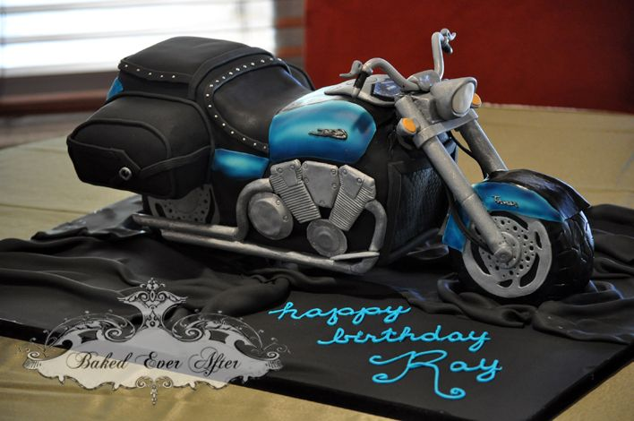 motorcycle cakes | What to do when the husband wants a motorcycle but the wife doesn't ...