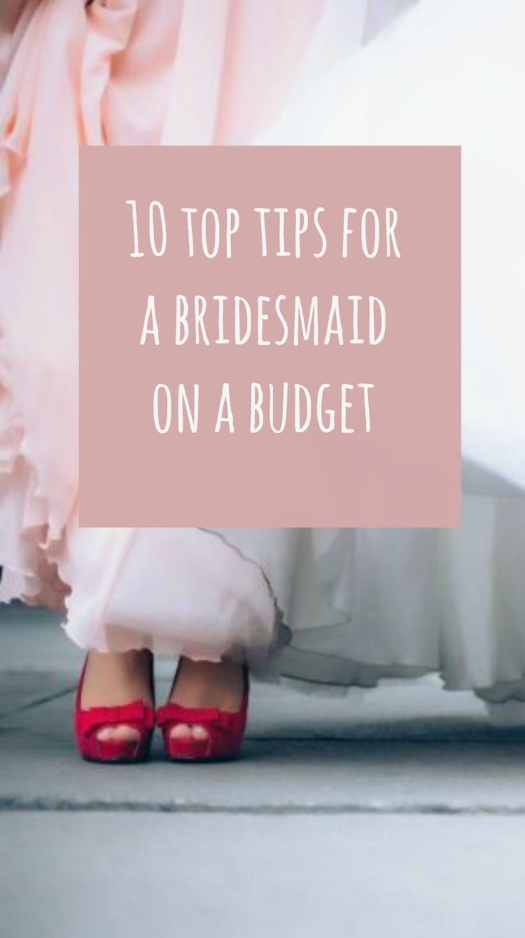 are you having a thrifty and frugal wedding ? Are you wonderign how to afford your wedding and still have the bridesmaids you want? Here are 10 tips for bridesmaids on a budget. Hope these frugal wedding tips help!