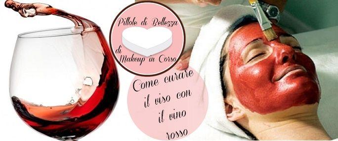 Il vino rosso è ricco di sostanze antiossidanti: applicando una maschera sul viso secondo la vinoterapia, riduce rughe, macchie e secchezza.