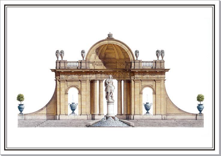 Sceaux Belvedere demilune