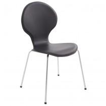 'Samba' - http://www.alterego-design.com/chaise-de-cuisine-salle-a-manger-design-en-cuir-synthetique-noir-samba.html