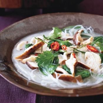 Thai Chicken-Coconut Soup | soups | Pinterest