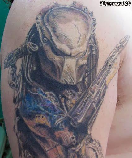 51 Deadliest Predator Tattoo Designs Ideas For Men: Tattoos Ideas (With Images