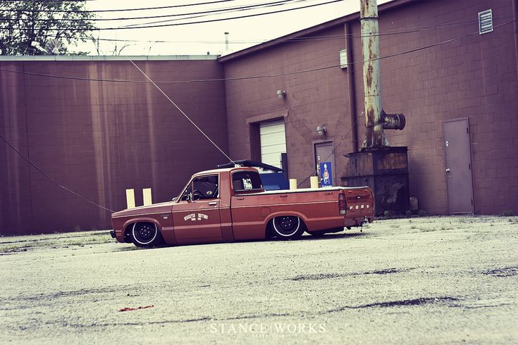 Mike McKinney's 1979 Ford Courier - Stance Works