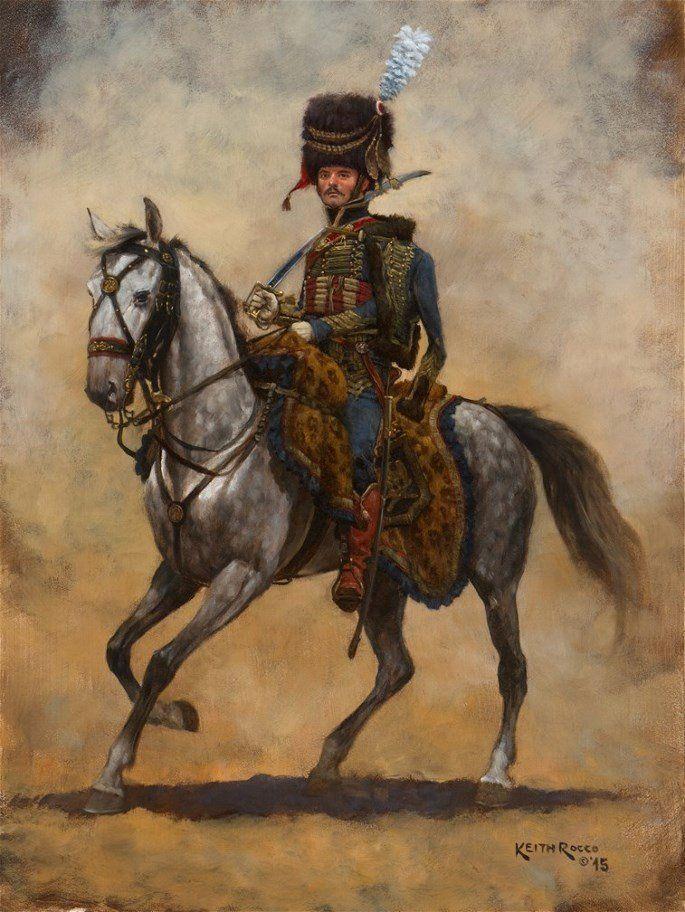 Ufficiale dell'artiglieria a cavallo del regno d'Italia - Keith Rocco