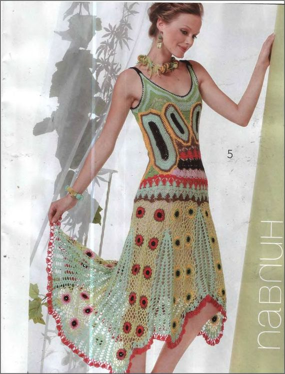 Zhurnal mod Mod problema raro tricô padrões CROCHET Livro Cocktail Wedding Vestidos Cardigans Tops Saias Fashion Magazine 515