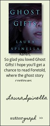 """Authorgraph from Laura Spinella for """"Ghost Gifts"""""""