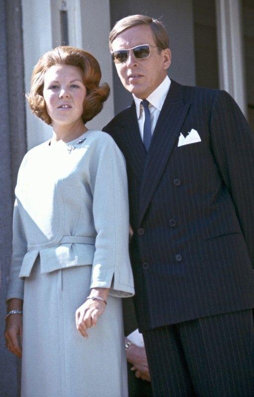 archive : Béatrix et Claus au Koninginnedag 1966