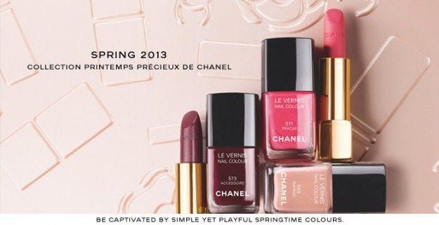 Rossetti e smalti Chanel Primavera-Estate 2013