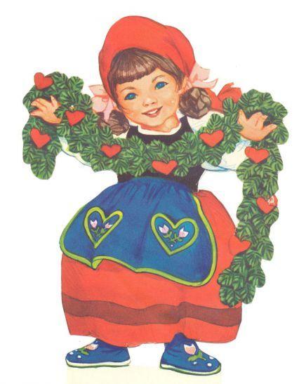 DANISH Dekorationsnisser   ENGLISH Decorative Gnomes by Iben Clante