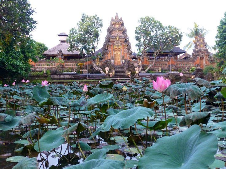 Lotus Temple, Ubud, Bali