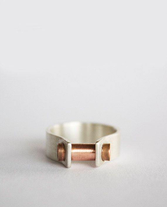 Single Clamp Ring by leahstaley on Etsy, $62.00