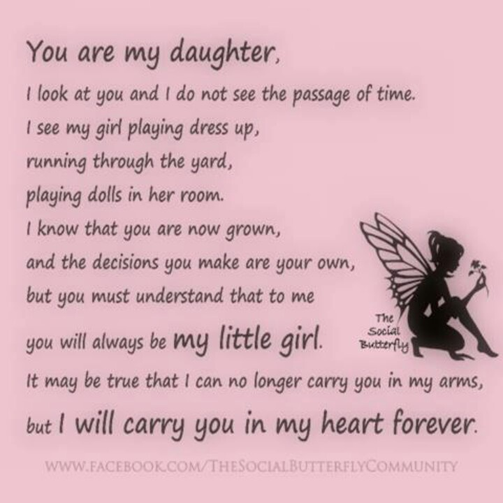For Daughter Quotes: Best 25+ Daughter Poems Ideas On Pinterest