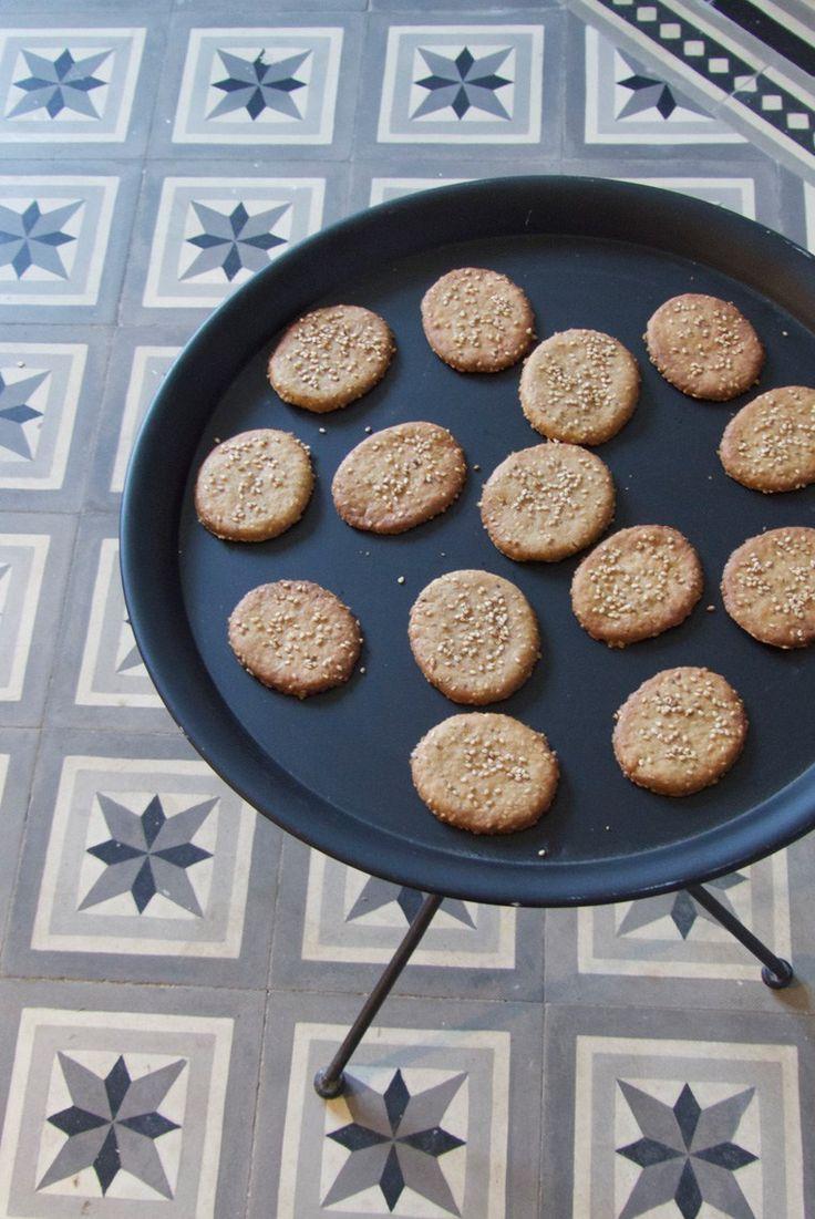 Palets Craquants aux Sésames & Sucre de fleur de coco - Vegan - Bidule et Cocotte