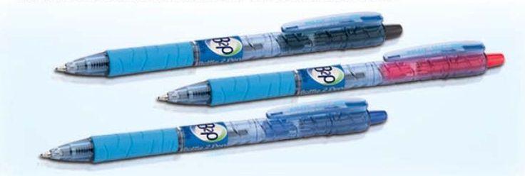 Zamilujte sa do ekologických guľôčkových pier #B2P s tenkým hrotom. K dostaniu v troch farebných variantoch!