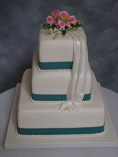 Sugar Flowers and Wedding Cakes