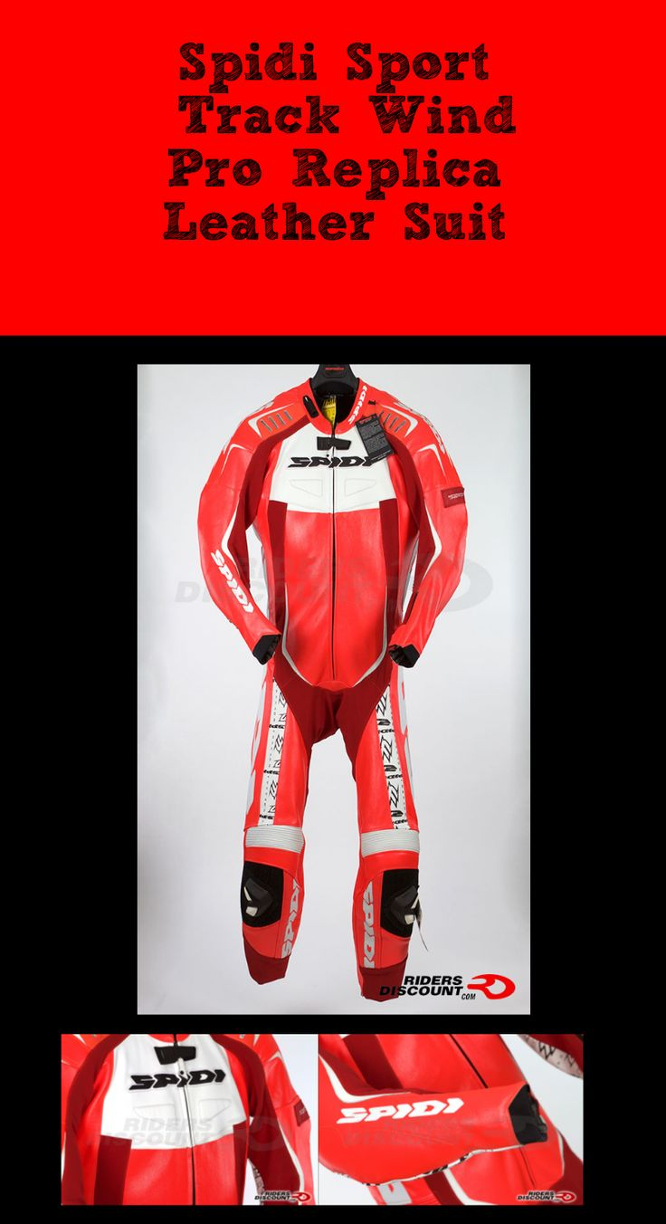 The Spidi Sport Track Wind Pro Replica Leather Suit is now available!