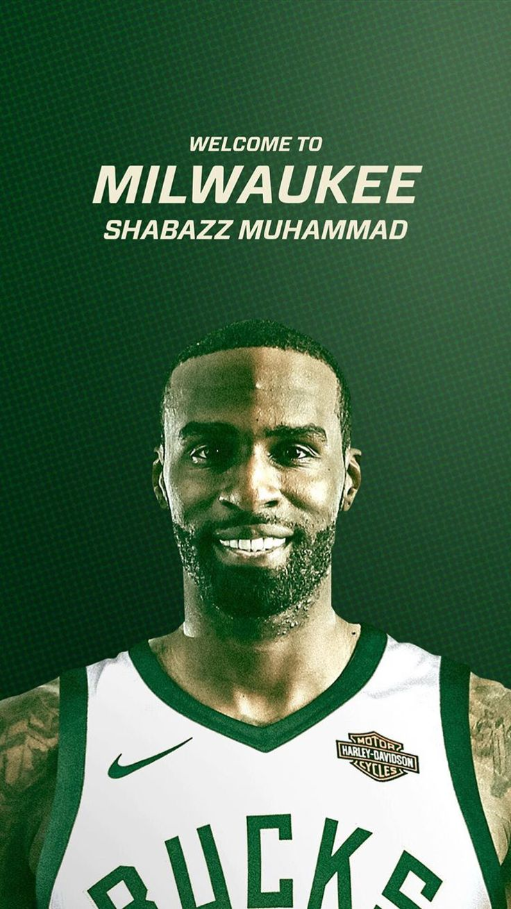 New Buck on the block... Welcome to the team, Shabazz Muhammad.