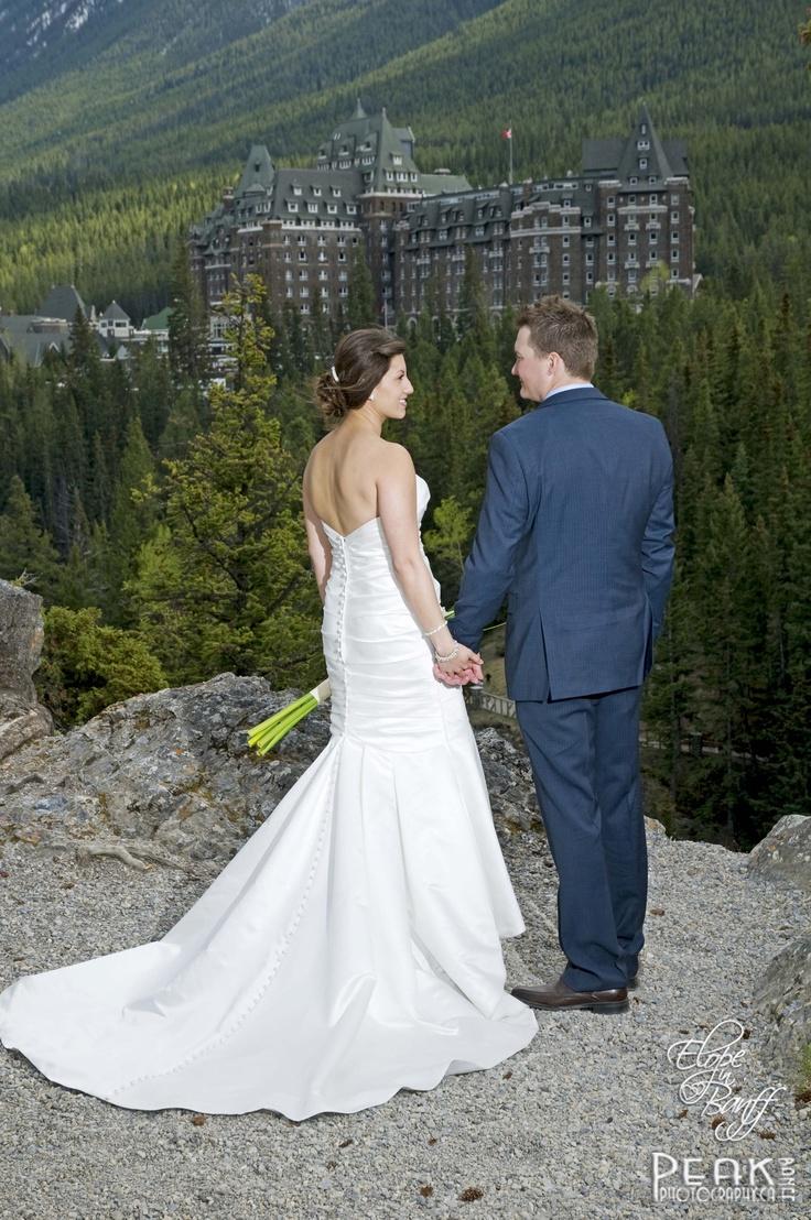 Ashley & Chad / May 19/12 / Cascade Gardens, Banff Alberta / Photography by Roger Witney