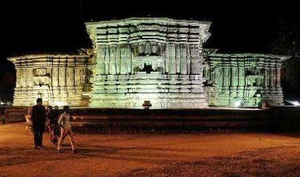 1000 PILLAR TEMPLE AT HANAMKONDA (Warangal) - Telangana State built in 1163 AD by Kakatiya Dynasty.