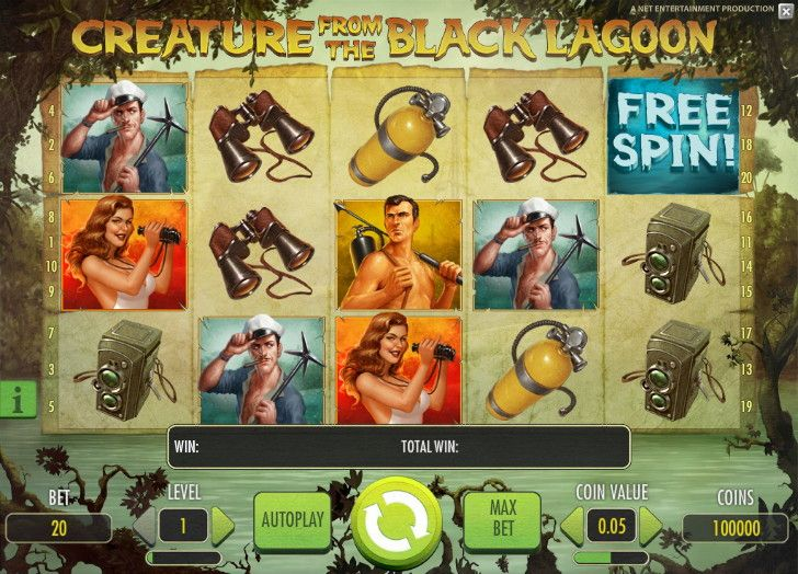New Creature from the Black Lagoon slot - http://cp4w.com/net-entertainment-slots/creature-black-lagoon.html