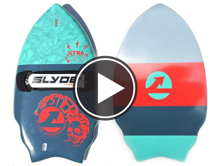 Wedge Handboard For Bodysurfing With Gopro Attachment and ...