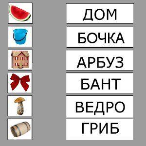 Учимся читать по слогам картинки