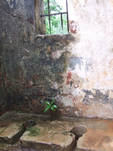 Prisoner bathroom---Devil's Island
