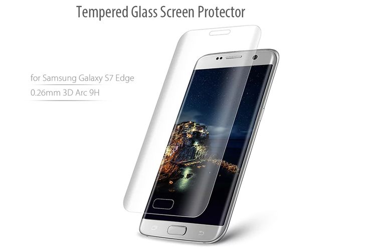 Main Features:  Practical tempered glass screen protective film for Samsung Galaxy S7 Edge  Oleophobic coating, anti-oil and anti-fingerprint  0.26mm ultra-slim, high touch sensitivity  Super strength 9H hardness, explosion-proof    Specification    General    Brand: Hat-Prince  Type: Screen Protector  Compatible with: Samsung Galaxy S7 Edge  Features: Anti fingerprint,Anti scratch,Anti-oil,High sensitivity,High Transparency,High-definition,Ultra thin  Material: Tempered Glass…