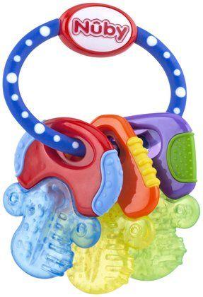Nuby Ice Gel Teether Keys - Free Shipping
