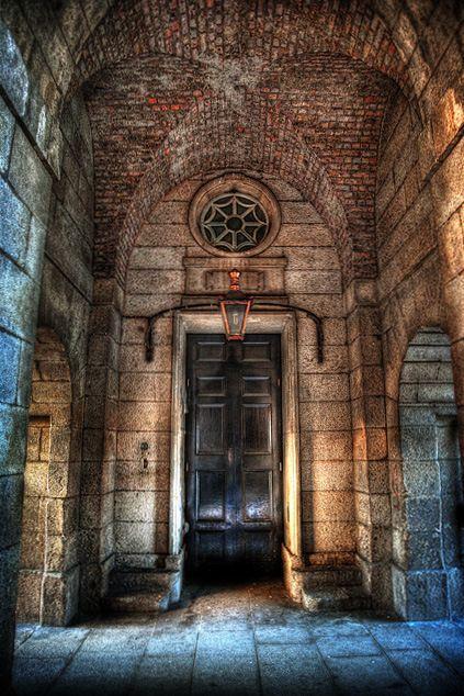 Black is the New Black,  Door at King's Inns,  Photo by Declan O'Doherty