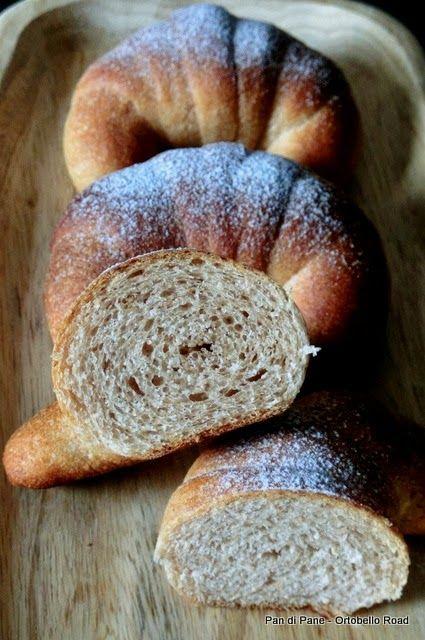 Pan di Pane: Ricetta Brioches Integrali, Vegan e non.