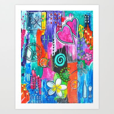 Strength of Spectrum Art Print by Art by Astrid - $17.68