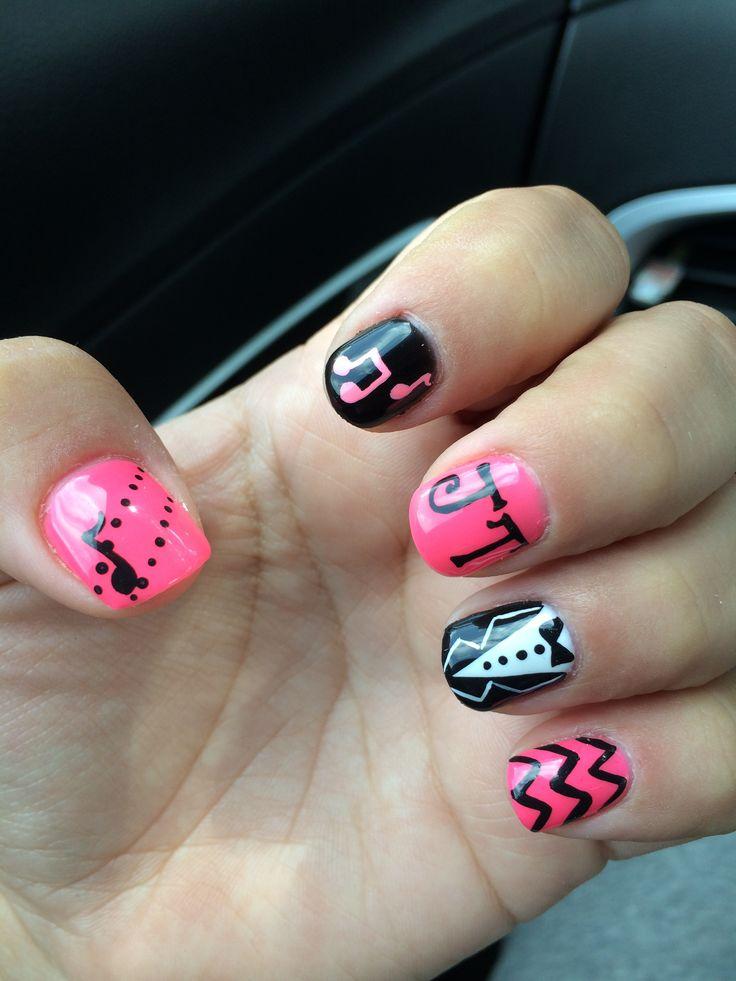 New Justin Timberlake nail design | Nails | Pinterest